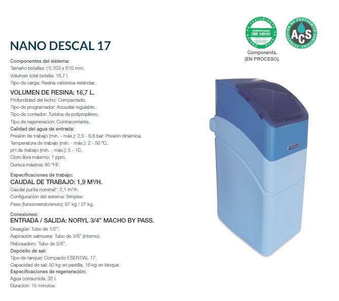 NANO DESCAL 17