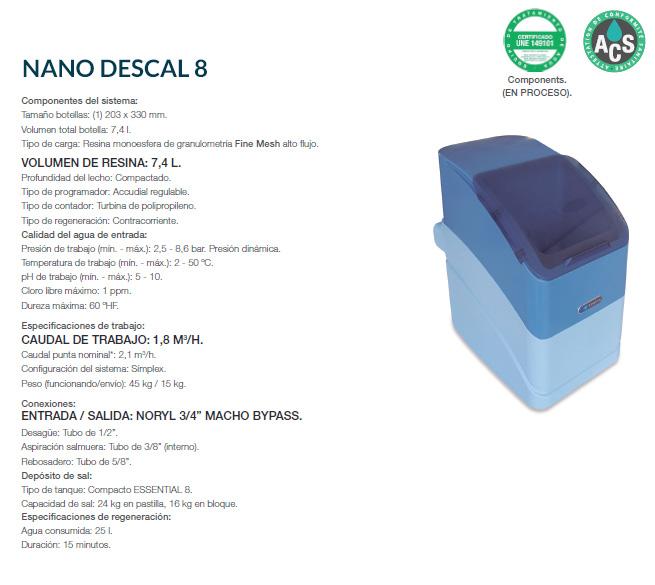 NANO DESCAL 8