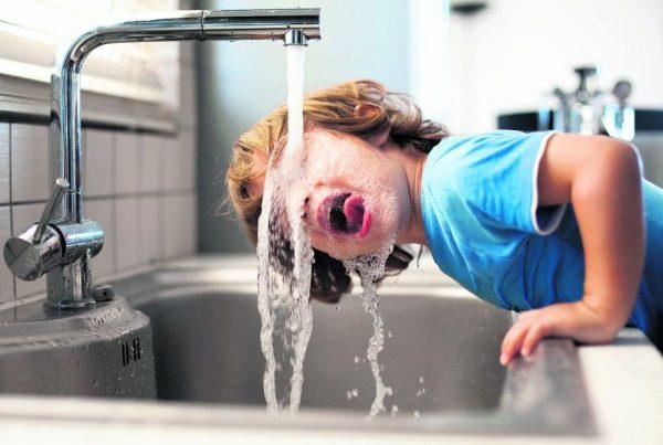 La calidad del agua corriente