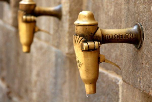 fuentes agua barcelona