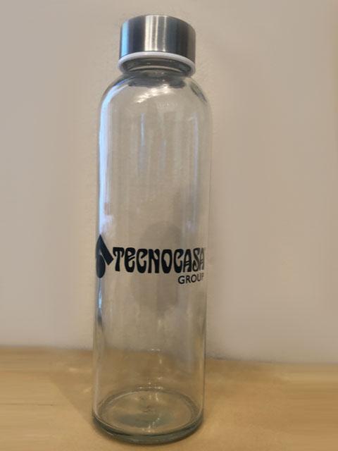 Botellas personalizadas Tecnocasa