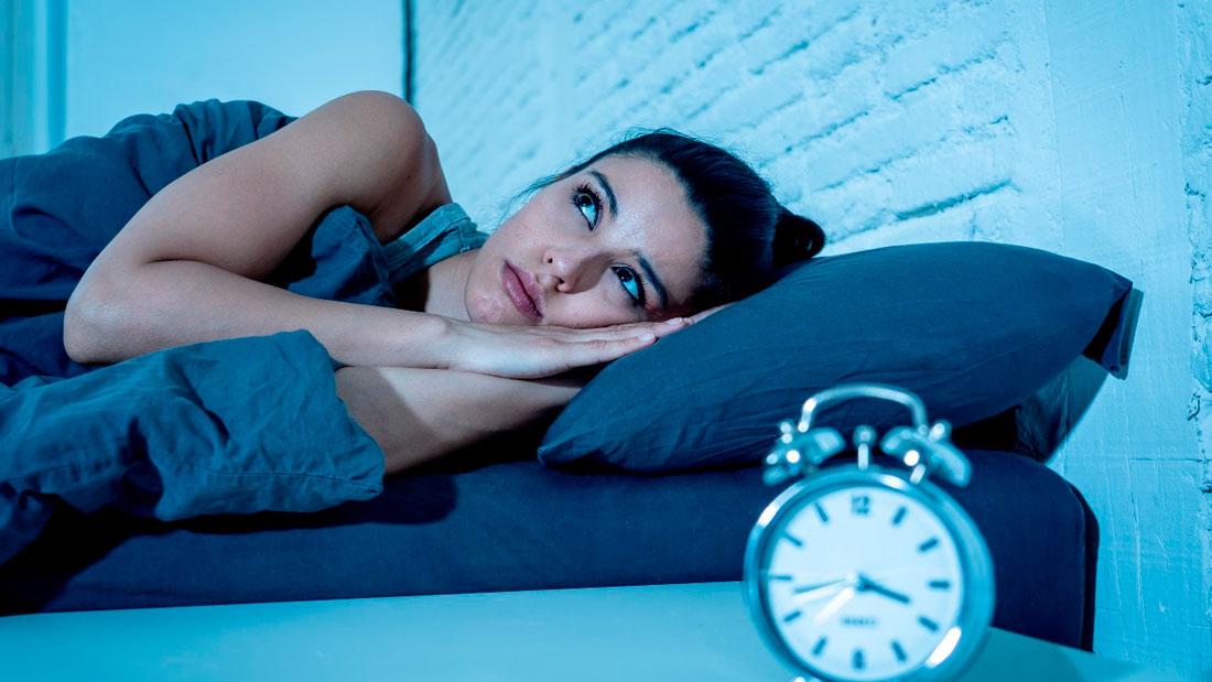 Combate el insomnio con agua
